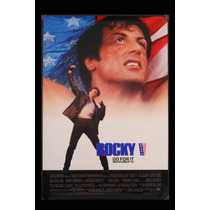 Carteles Antiguos Chapa Poster 60x40cm Rocky Balboa Fi-006