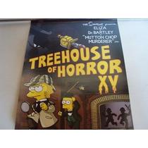 Poster De Los Simpson - La Casita Del Horror