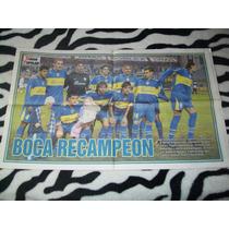 Poster Boca Juniors Campeón Recopa Sudamericana 2005