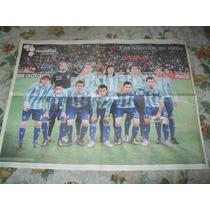 Poster Selección Argentina Sudafrica 2010 Maradona Dt Clarin