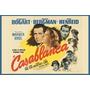 Carteles Antiguos De Chapa Poster60x40cm Casablanca Fi-032