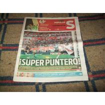 Suplemento Deportivo River 0 Boca 1 Campeonato 2015 Poster
