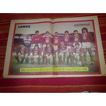 Poster Lanus Cronica