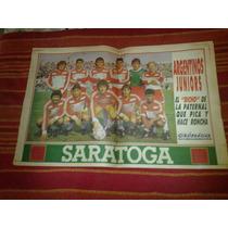 Poster Argentinos Juniors Cronica