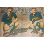 Poster Antiguo De Boca Juniors - Menendez Y Angeletti