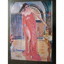 Poster Reproduccion Publicidad Jabon Le Sancy