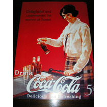 Poster Coca Cola Memorabilia Delicious And Refreshing