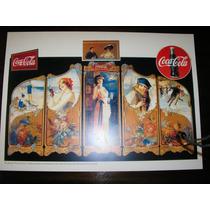Poster Coca Cola Memorabilia The Famous Four Seasons