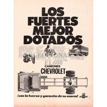 Publicidad Camiones Chevrolet Decada ´70