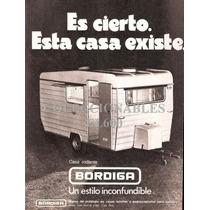 Publicidad Antigua Casa Rodante Bordiga