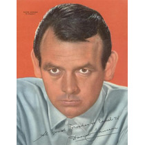 El Fugitivo-david Janssen-canal Tv-poster Decada Del 60