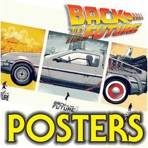 Posters Volver Al Furturo Bttf Batman Tripticos 42x30 A3