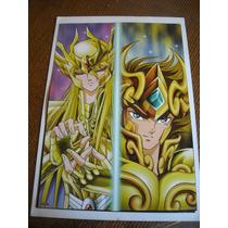 Imperdible Poster Original Anime Caballeros Del Zodiaco # 3