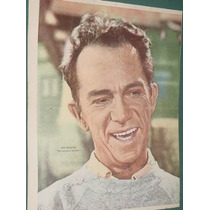 Television Poster Antiguo Ray Walston Mi Marciano Favorito