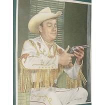 Poster Television Original Roy Rogers Cowboys Series Tv Cine
