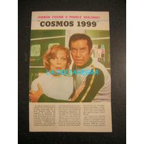 Cosmos 1999 Doble Página Central De Tv Guía