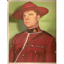 Poster Canal Tv - Policia Montada De Canada- Pelletier (063)