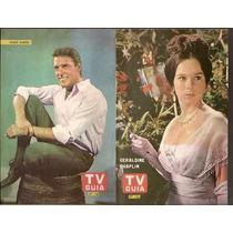 Poster Tv Guia 156- Hugo Dargo - Geraldine Chaplin (072)