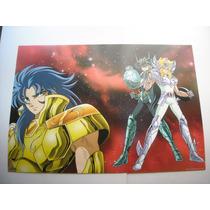 Imperdible Poster Original Anime Caballeros Del Zodiaco # 2