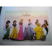 Imperdible Poster Original De Princesas