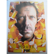 Imperdible Poster Original Serie Tv Dr House