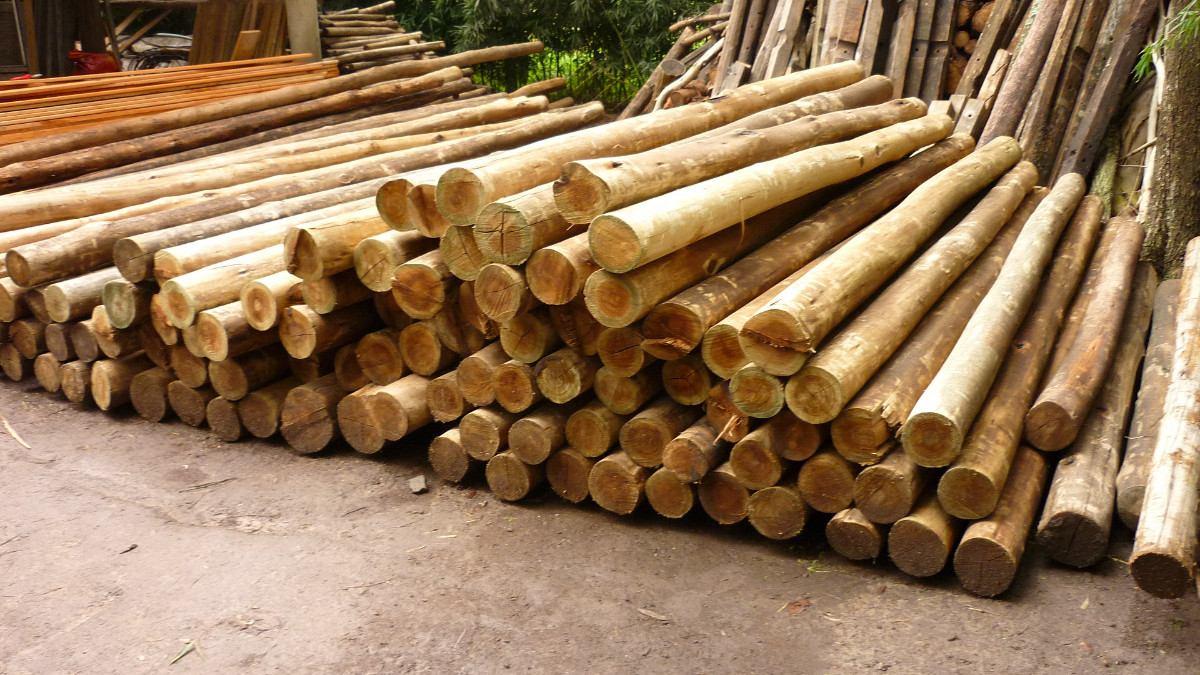 Megapost fotos de palos pasa que alguna te llevas - Postes de madera ...