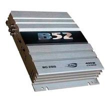 Potencia Auto B-52 Rc 255 2 Canales 400 Watt Ideal Driver