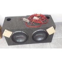 Caja De Audio Auto Sub Woofer Pioneer Y Etapa Potencia
