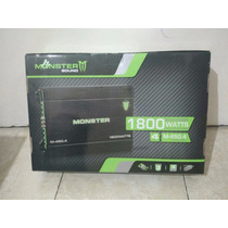 Potencia Amplificador Monster 1800w M-450.4