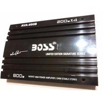 Potencia Boss Ava-650b Edición Limitada Impecable ! ! !