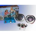 Kit De Musica Audio Para Tu Moto 400w Parlantes + Potencia