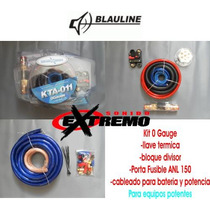Kit De Cables Magixson 0 Gauge Para Bateria De Gel