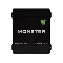 Potencia Monster M350 700 Watts 200rms Auto