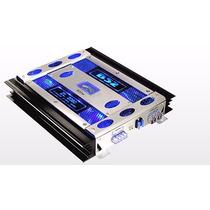Potencia B52 Amplificador 800w 2 Canales Zl2080 200w Rms X2