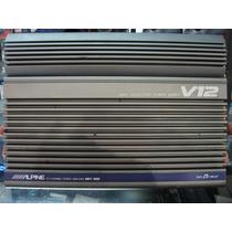 Amplificador Alpine Mrv 1000 V12,excelente E Impecable