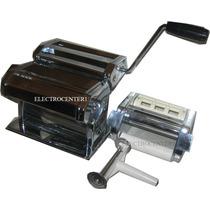 Maquina De Pastas 3en1 Fabrica Fideos + Sobadora + Raviolera