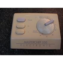 Multiprocesadora Masterchef 550 Molinex- Panel Manejo