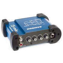 Samson S-mix - Mini Mixer 5 Entradas, 1xlr + Rca St + Plug