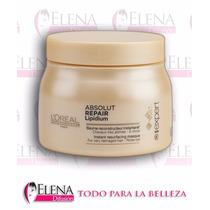 Baño De Crema Loreal Absolut Repair Lipidium Serie 500ml