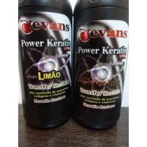Kit Shock De Keratina Limao Y Chocolate X 1 Litro C/u