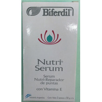 Biferdil Nutri Serum Reparador De Puntas Secas, Florecidas