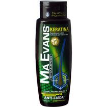 Shampoo Ma Evans Keratina Brasileña X 400 Ml - Lacio Seguro