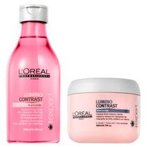 Shampoo + Mascara Lumino Contrast Loreal Cabello Mechas