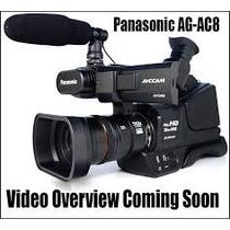 Filmadora Panasonic Ag-ac8 Mdh2 Pal ( Mdh1) Gtia 3 Años