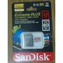 Memoria Sandisk Extreme Plus Micro Sd32gb Clase10 Nueva $780