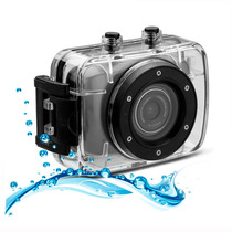 Camara Deportes Extremos Hd Sumergible Lcd Touch + Montajes