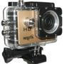 Camara Nisuta 720p Full Hd Lcd Sumergible Agua Hdmi Pro Go