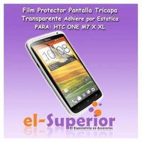 Film Protector De Pantalla Htc One M7 One X / One Xl