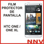 Film Protector De Pantalla Htc One / One Xl - Nnv