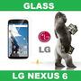 Glass Vidrio Templado Lg Nexus 6 Liniers Ciudadela
